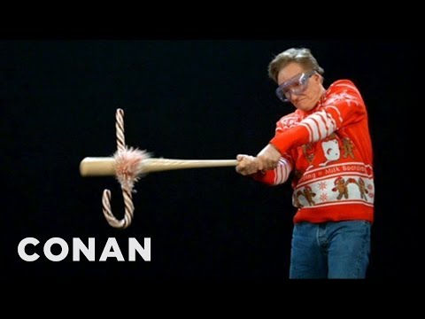 Conan's Holiday Super Slo-Mo Camera Moments - CONAN on TBS