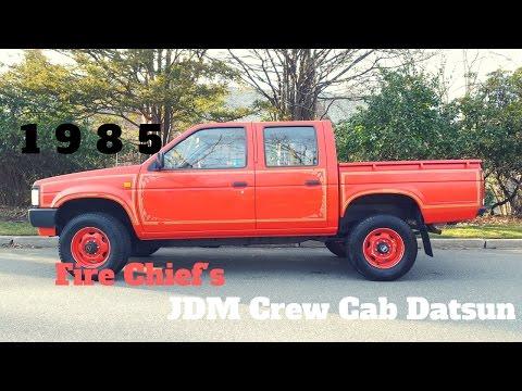 1985 Nissan Datsun Pickup Crew Cab 4x4 5 Speed JDM Import
