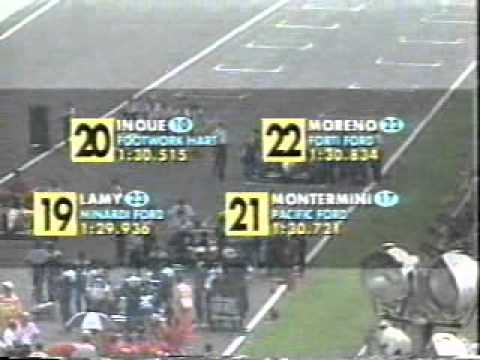 part 2 of the 1995 Italian GP held at Monza Commentary by Bob Varsha and Derek Bell.