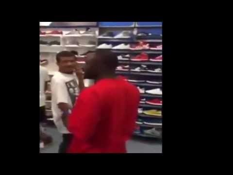 When Facebook Thugging Goes Wrong: Dude Catches Online Sh*t Talker At The Mall & Has Him Shook! When Facebook Thugging Goes Wrong: Dude Catches Online Sh*t Talker At The Mall & Has Him Shook!...