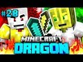 Der ERSTE KAMPF in DRAGON?! - Minecraft Dragon #028 [Deutsch/...