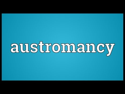 Header of Austromancy