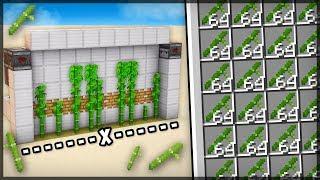 ✔ FARM DE BAMBOO SIMPLES e AUTOMÁTICA - MINECRAFT 1.14
