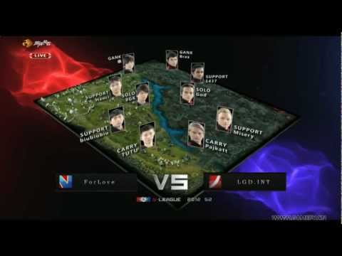 LGD.int vs ForLove - Game 1 (G-League)