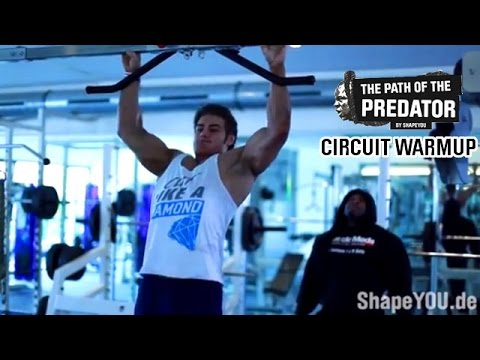 Kai Greene PATH OF THE PREDATOR -Chapter II- CIRCUIT WARMUP w/ Jeff Seid & Alon Gabbay