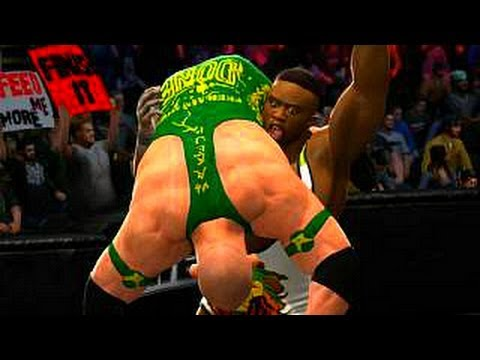 WWE 2K14: Big E Langston vs Ryback - Street Fight Match