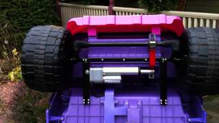 RC Converted Toyota Princess Jeep Technical Overview