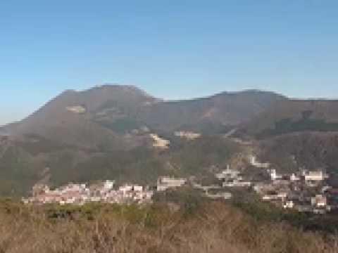 雲仙絶景ポイント:絹笠山頂