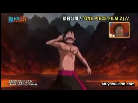 One Piece Film Z - Luffy vs Z .Ain vs Zoro.Bins vs Sanji.