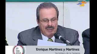 Comparecencia del Titular de la SAGARPA ante Diputados / 19 Septiembre 2014 - Parte I