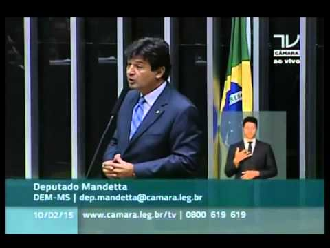 Mandetta critica o subfinanciamento da Saúde nas emendas parlamentares