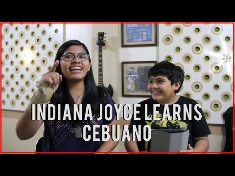 Indiana Joyce Learns Cebuano | Q&A