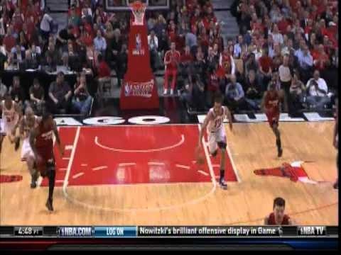May 18, 2011 - TNT - Eastern Conference Finals Game 02 Miami Heat @ Chicago Bulls - Win (01-01)