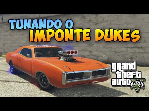 GTA V Nova Geração: Tunando o Imponte Dukes - Dodge Charger! Carro Novo Exclusivo!