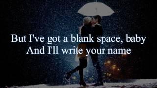 Taylor Swift - Blank Space (Acoustic cover by Tiffani Afifa) Lyrics