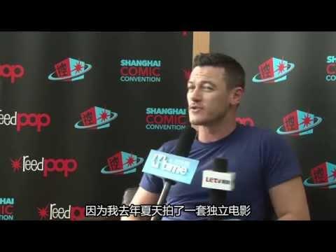 Luke Evans's Exclusive Interview: SHCC 2015