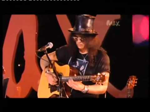 Sweet Child O&#039; Mine - Rare Acoustic - Slash &amp; Myles Kennedy - Live Max Sessions 2010 HQ