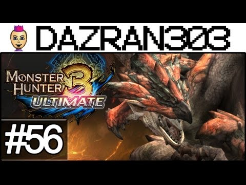 Monster Hunter 3 Ultimate - Let's Play Episode 56 - Taking Tanzia Quests - MH3U WiiU Gameplay Commentary Dazran303
