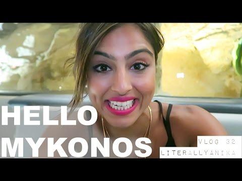 Travel Vlog 32- HELLO MYKONOS