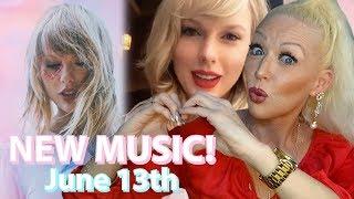 Taylor Swift 'Lover' Album & New Music Instagram Live | REACTION
