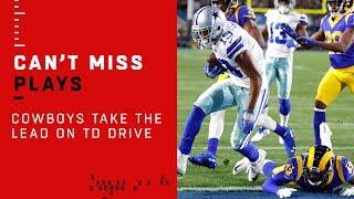 Cowboys Take the Lead on Dak & Amari TD Connection!
