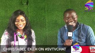 I HAD A CRUSH ON MICHAEL ESSIEN - CHRISTABEL EKEH