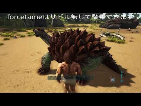 コマンド Ark サドル