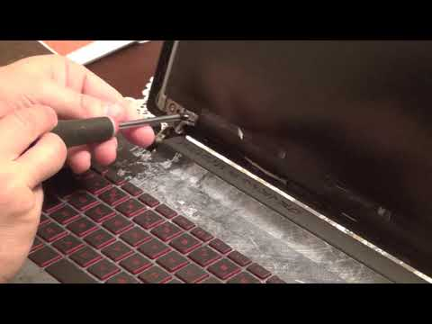 Laptop screen replacement / How to replace laptop screen (HP 15-AN050CA)