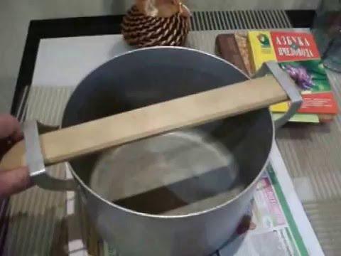 Пчеловодство. Кухонный воскопресс.