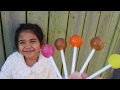 Lolli Pop Finger Family Song With Real Toddler Lucky mp3