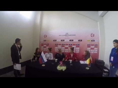 The FIVB Volleyball Girls' U18 World Championship Belgium x Russia Press conference