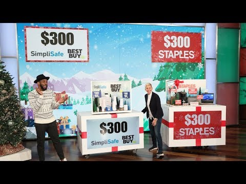 Ellen's Audience Goes Wild for a 12 Days of Giveaways Preview!