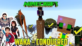 WAKA WAKA WAKA ISLANDS CONQUERED (Minecraft mini-game / mod)