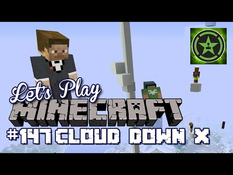 Let's Play Minecraft - Episode 147 - Cloud Down X