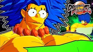I'LL KRUMP WITH YOU KAKAROT! - Dragon Ball FighterZ Marge Broly Gameplay & ALL DRAMATIC FINISHES