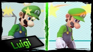 Moveset Animation Comparison | LUIGI