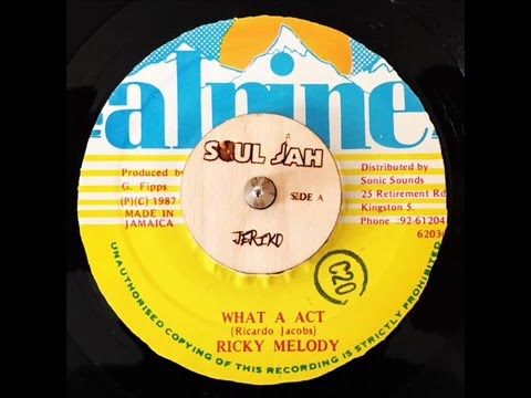 Ricky Melody - what a act