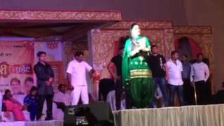 Sapna choudhary at gwalior (April 4, 2017)