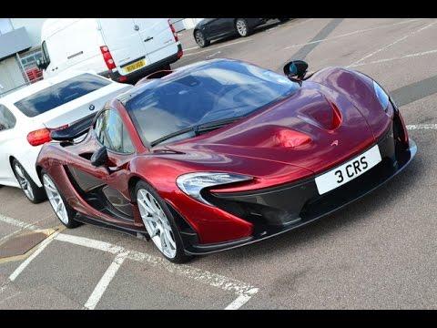 McLaren P1 loud startup & walkaround - Full HD