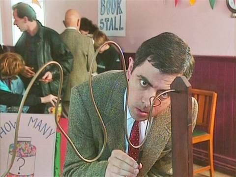 Mr Bean - Country fete games