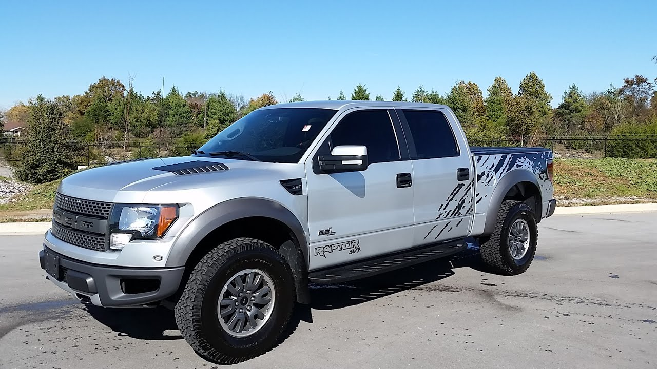ford svt raptor super crew 6 2l v8 silver with graphics for sale call 855 507 8520. Black Bedroom Furniture Sets. Home Design Ideas