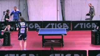 Fabian Akerstrom - Jorgen Person - Swedish Championships 2013 QF
