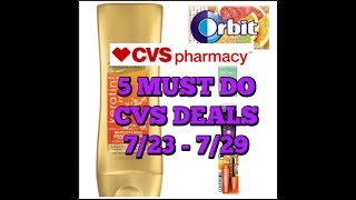 download lagu 5 Must Do Cvs Deals 7/23 - 7/29  gratis