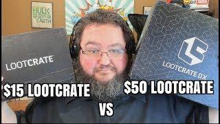 $15 LOOTCRATE VS $50 DOLLAR LOOT CRATE - SEPTEMBER 2017
