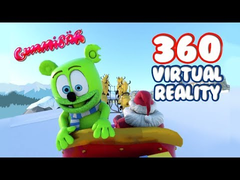 360 Virtual Reality Winter Wonderland - Gummibär The Gummy Bear