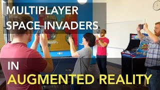 Multiplayer AR Space Invaders - Built with Placenote SDK