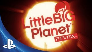 LittleBigPlanet PlayStation Vita E3 Trailer