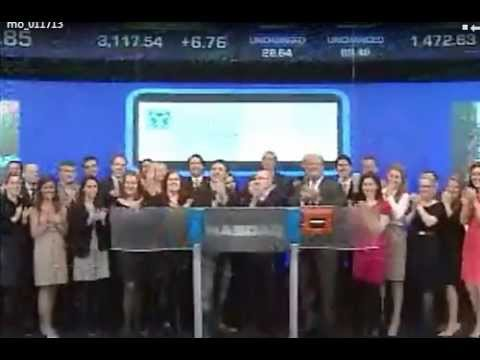 The American Ireland Fund Rings NASDAQ Stock Market Opening Bell