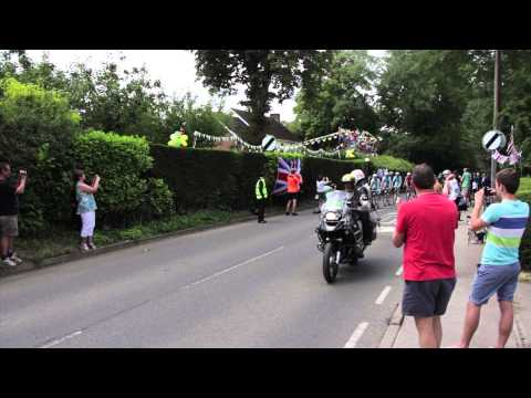 TOUR DE FRANCE/ STAGE 3/ 1PM/ SAFFRON WALDEN/ SEWARDS END