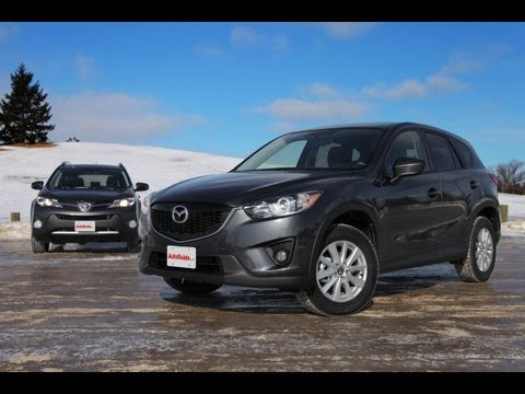 2014 Mazda CX-5 vs. 2013 Toyota RAV4 Comparison